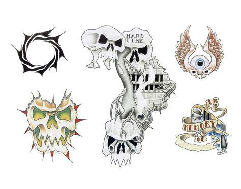 tattoo flash art free skull adn demon tattoo design img36 171 skulls demons 171 flash