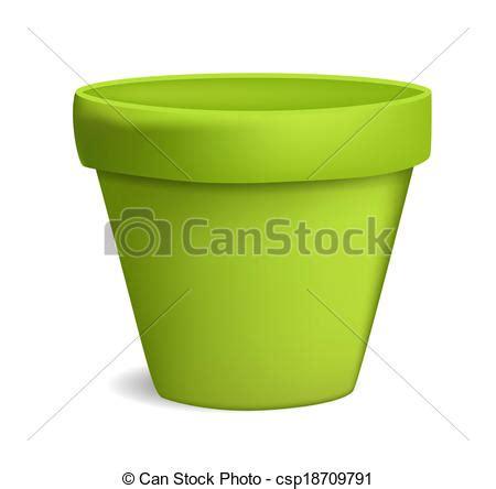 pots stock illustration image 45254770 vecteurs eps de vide pot fleurs vecteur illustration