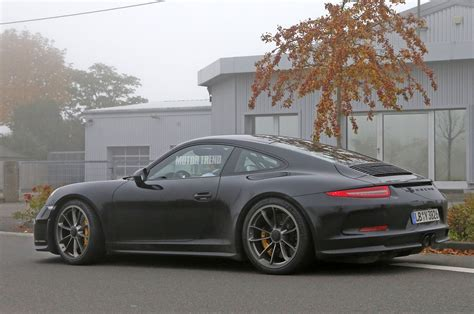 camo porsche porsche 911 r spied wingless and without camo