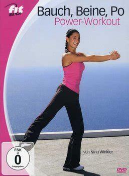 bauch beine po workout für zuhause bauch beine po power workout dvd oder leihen