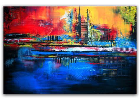 abstrakte kunst leinwand bild kreis struktur abstrakte kunst moderne malerei