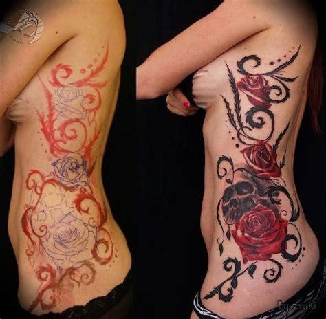 rose tattoos side best 25 side tattoos ideas on