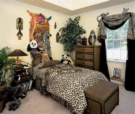 jungle themed bedrooms mind space making your room wild safari theme room