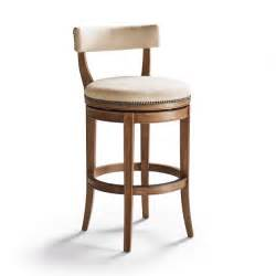 Low Back Bar Stool Henning Low Back Bar Height Bar Stool Frontgate