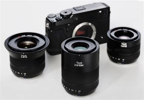 Goods Zeiss Touit 50mm F2 8 For Sony Fuji Brand New zeiss announces touit 50mm f2 8 macro for sony and