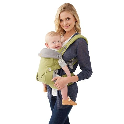 Ergobaby Four Position 360 Baby Carrier Green ergobaby 4 position 360 baby carrier green front and back carriers ergobaby