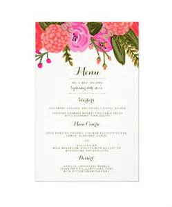 free dinner menu template doc 504558 sle menu template doc600570 dinner