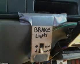 Car Lighting Repairs Hilarious Pictures Reveal Some Of The Worst Diy Botch