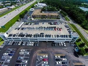 this is an aerial view of fields bmw winter park our bmw