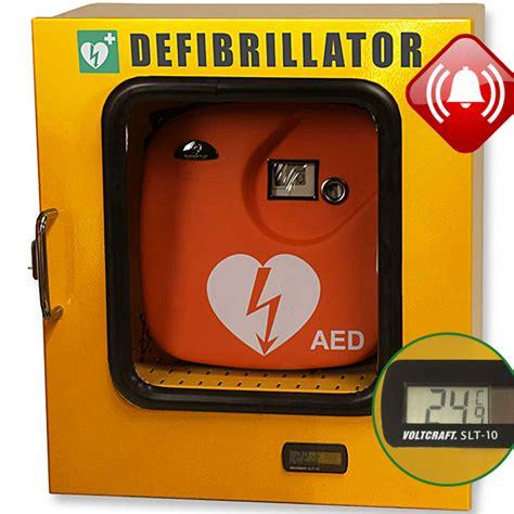 defibrillatore automatico interno armadietto teca defibrillatori 43x21xh 48cm con