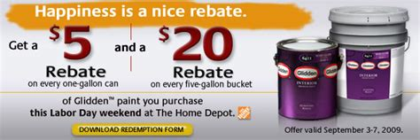 home depot paint labor day offer it s labor day show me some deals