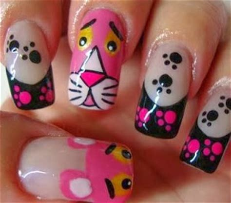 imagenes de uñas oscuras decoradas u 241 as decoradas con lindos dibujos animados originales