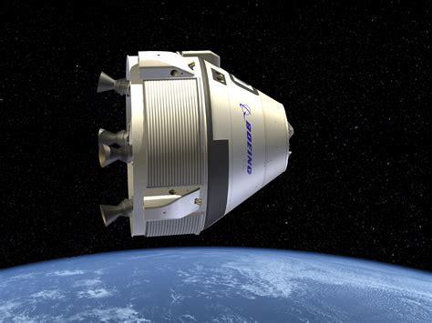 space craft nasa boeing tests cst 100 parachute protector