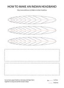 Indian Headdress Template by Indian Headdress Free Pattern Printable Costumes