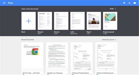 docs template gallery new templates for docs sheets and slides the