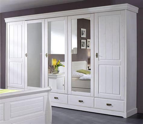 schlafzimmer komplett vollholz schlafzimmer set 4teilig kiefer massiv wei 223 gewachst