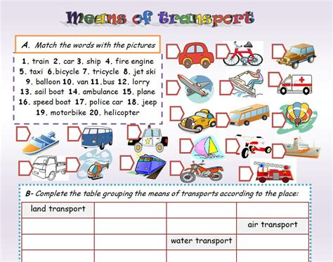 boat in spanish means means of transport ss transportation pinterest