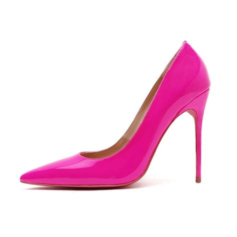 pink patent high heels milan patent pink leather high heel pump