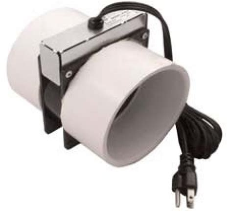 Bathroom Exhaust Fan Booster Radon Passive Vent Stack Booster Fan Home Air Filter Air