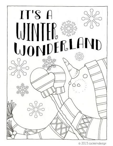 items similar  winter wonderland coloring page