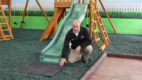 swing set rubber mulch rubber mulch for swing sets what you need to know youtube