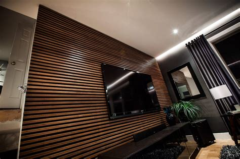 Initial Home Decor by The Uncommon Law The Living Room Slat Wall