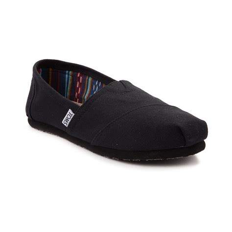 Toms Slip by Womens Toms Classic Slip On Casual Shoe