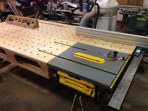 Free Wood Workbench Plans by Onboard Paulk Workbench With Biesmeyer By Navaar