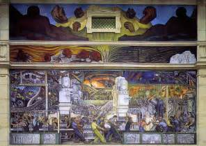 Denver Airport Wall Murals rivera diego detroit industry north wall