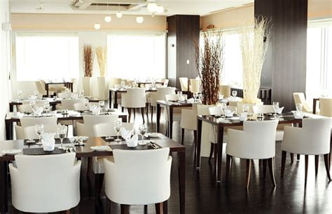 Restaurant Dining Room Furniture by White Plush Dining Room Chairs Decoist