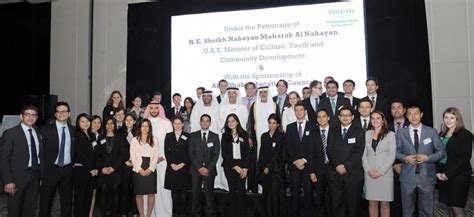 Insead Abu Dhabi Executive Mba by Insead Career Forum Attracts Mba Students And Top
