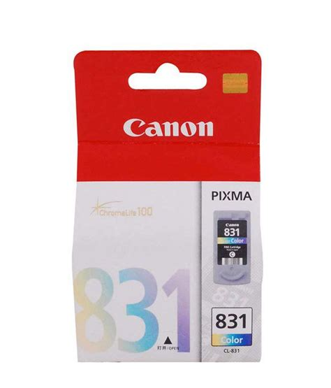 Promo Cartridge Canon Bekas 830 831 canon cl 831 inkjet cartridge buy canon cl 831 inkjet cartridge at low price in india