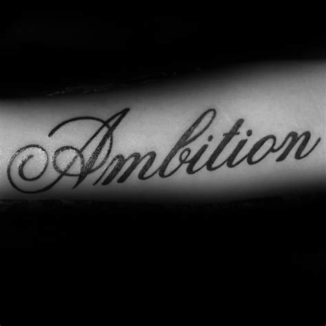 ambitious tattoos 33 popular ambition ideas stock golfian