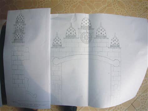 desain warna gapura vihara grha buddha manggala potret pembangunan november 2008