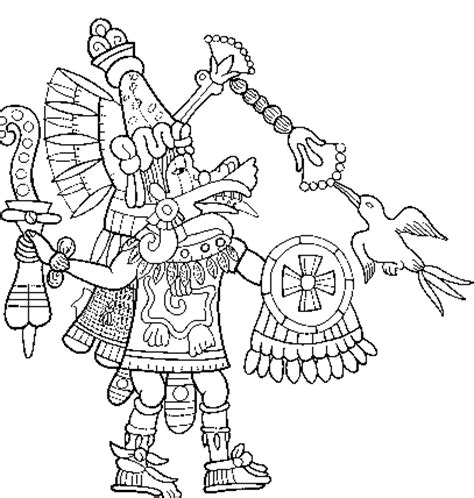 quetzalcoatl coloring page readings in classical nahuatl the death of quetzalcoatl