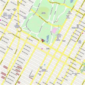 Map Of Central New York by New York City Hotels Near Central Park Party Invitations