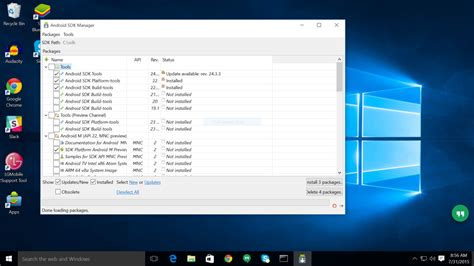 android sdk windows windows 10 and the android sdk tools no big changes android central