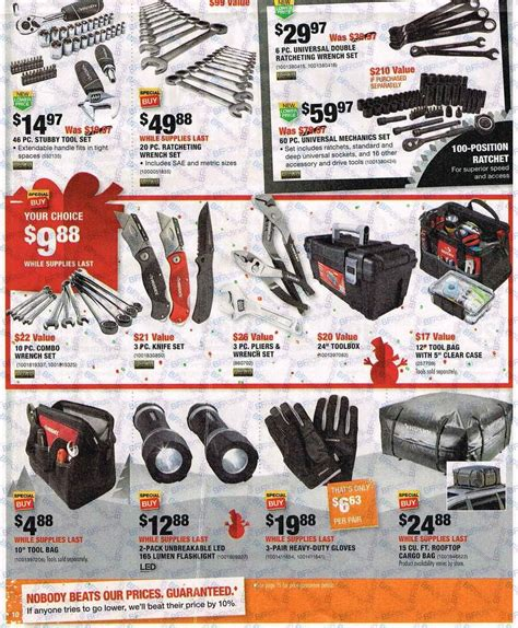 black friday 2016 home depot ad scan