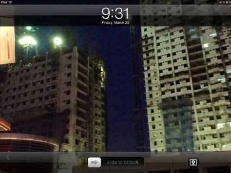 change  lock screen background   ipad  steps