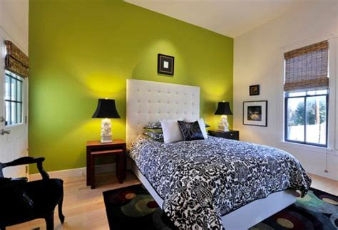 green black white bedroom interesting black and green color combos used in interior