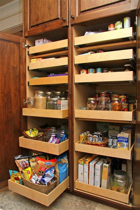 Pantry Cabinet With Drawers 30 kitchen pantry cabinet ideas for a well organized kitchen
