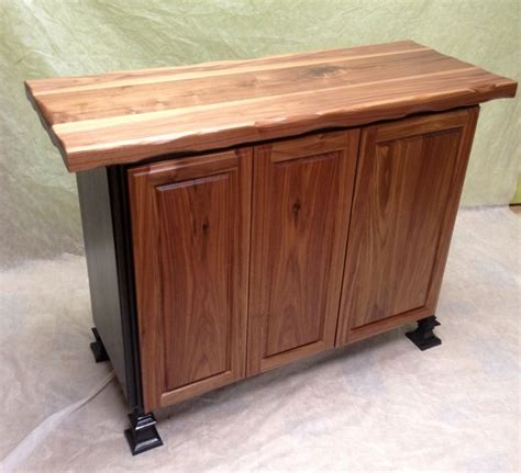 black walnut kitchen island mcclure block butcher block and black walnut island with concealed 28 images black