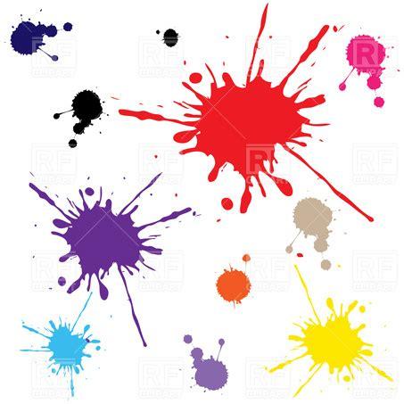 eps format paint net paint blots royalty free vector clip art image 4067