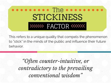 The Sticky Factor 2 by Tipping Point Malcolm Gladwell