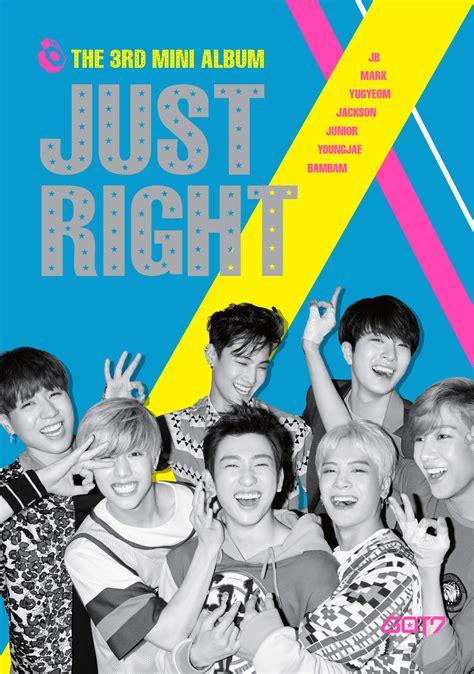 Got7 Just Right Album got7 sgkpopper