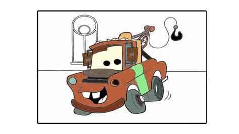gorro tejido de mate de cars diseo imgenes como dibujar y pintar a mate cars youtube