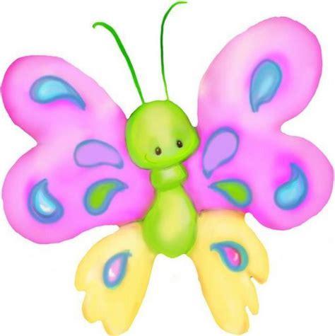 imagenes infantiles animadas mariposas de colores para imprimir