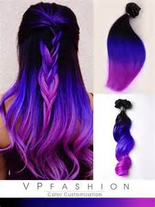 purple remy hair extensions mermaid purple remy clip in hair extensions inspired by