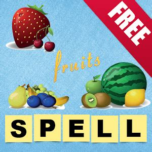q store fruit learn to spell fruits android apps on play