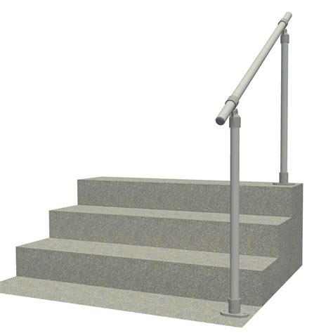 Handrail Kits Outdoors surface c50 outdoor stair railing easy install handrail simplified building